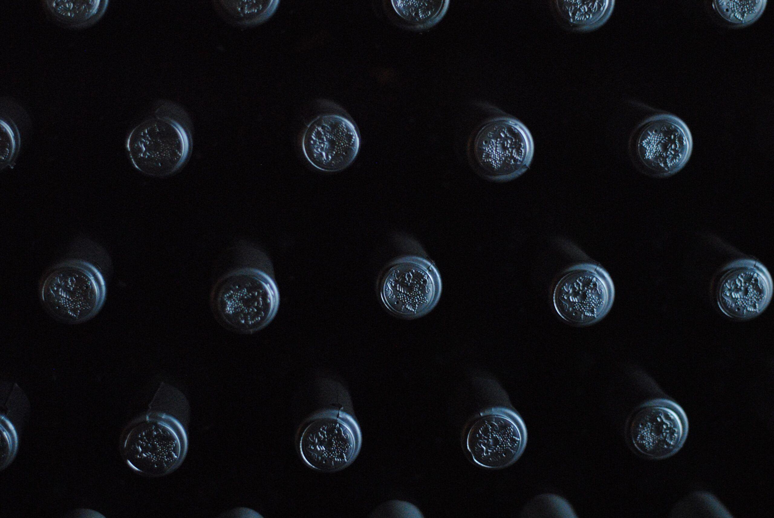 Guardar el vino sin luz