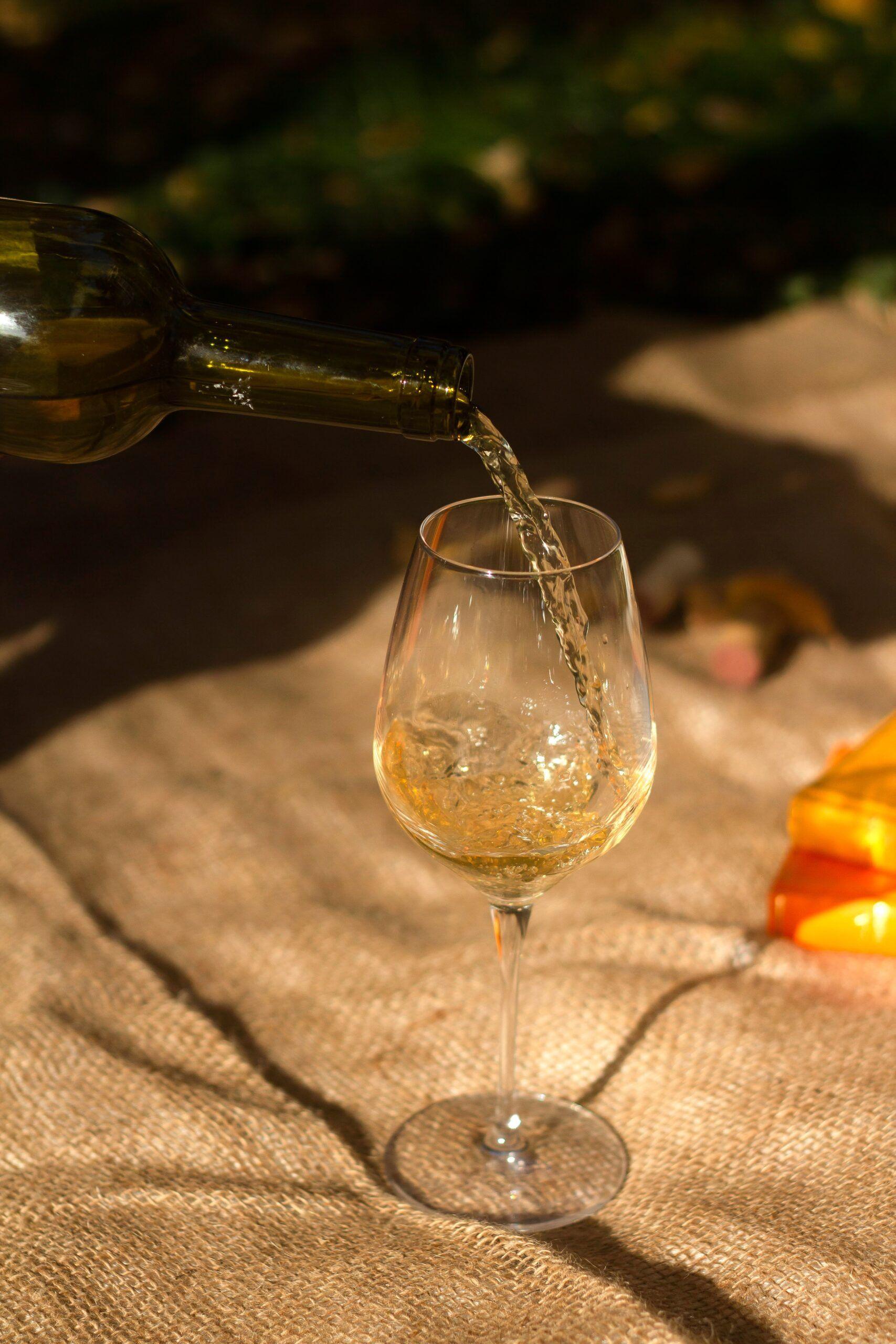 Gas carbonico vino blanco