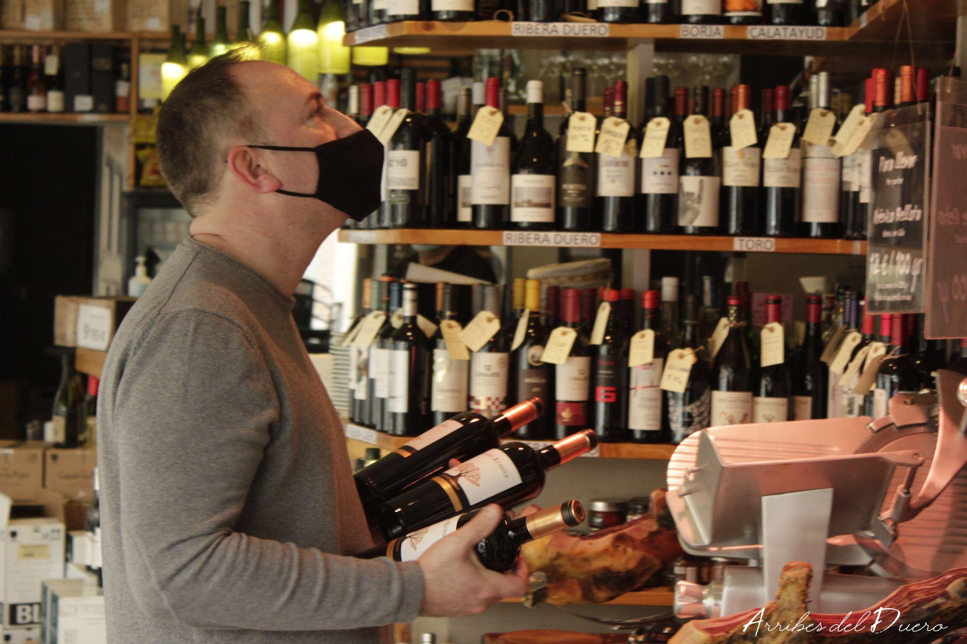 vinoteca arribes del duero Barcelona