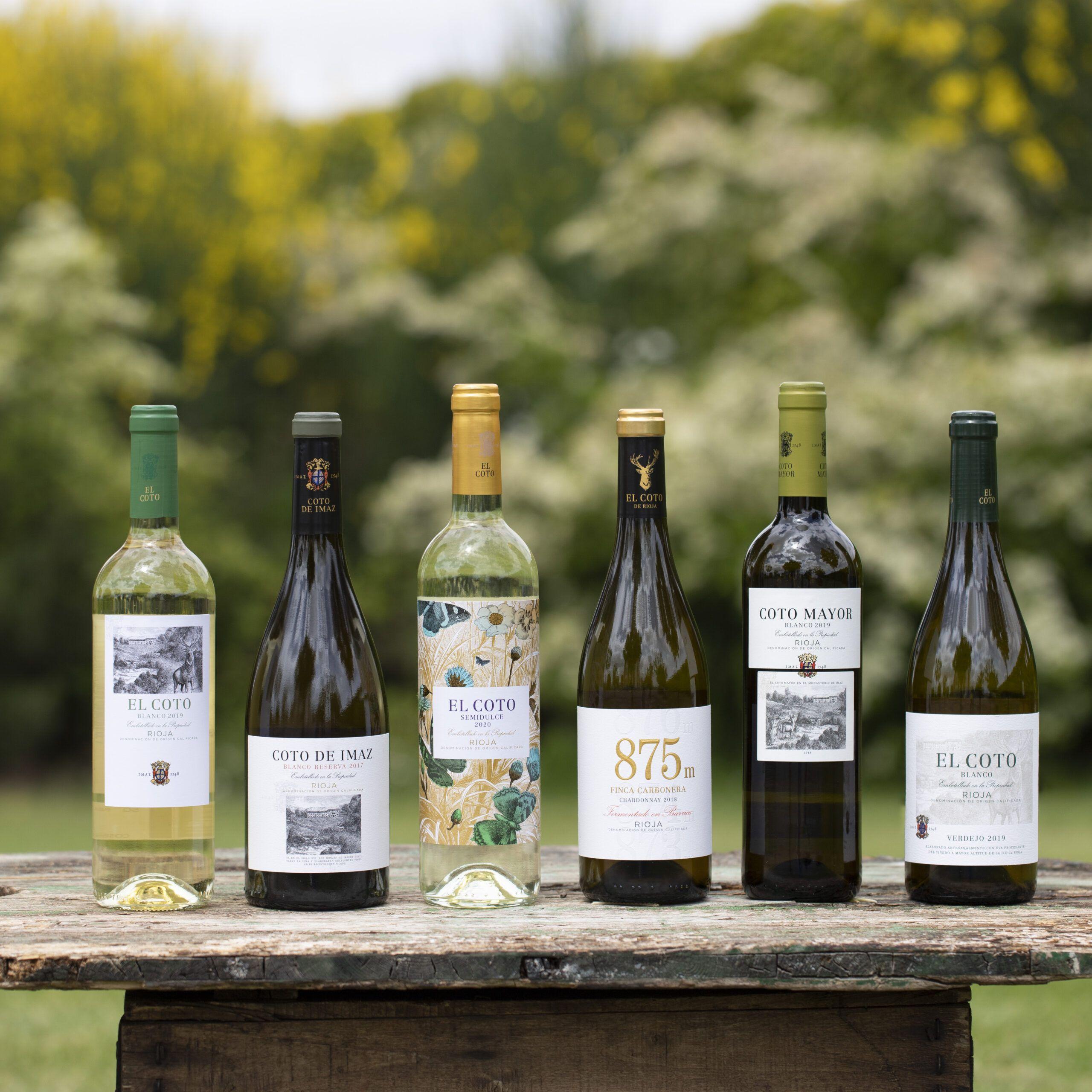 Tipos de vino blanco El Coto