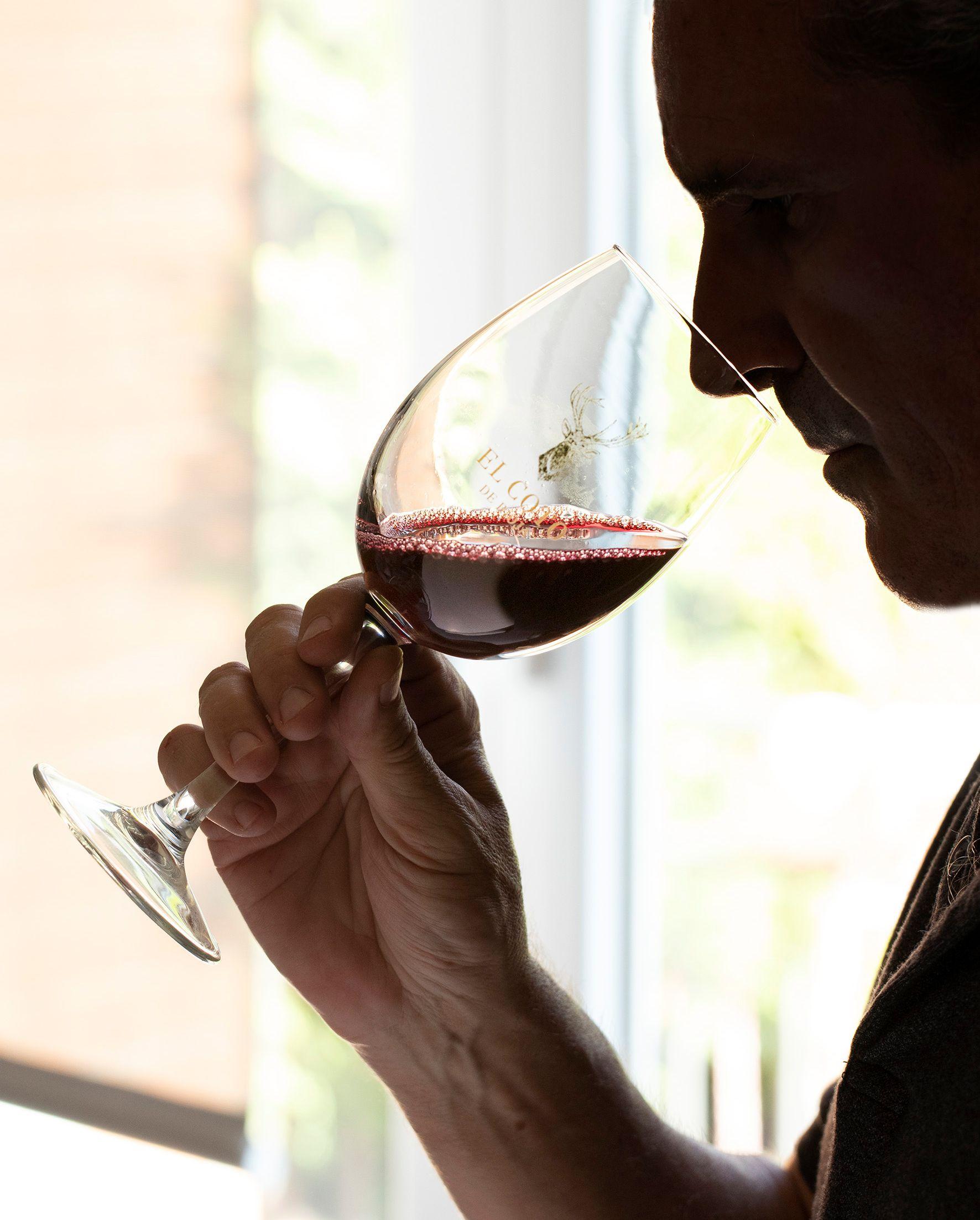 Cómo oler un vino